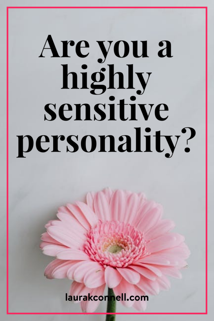 highly sensitive personality types