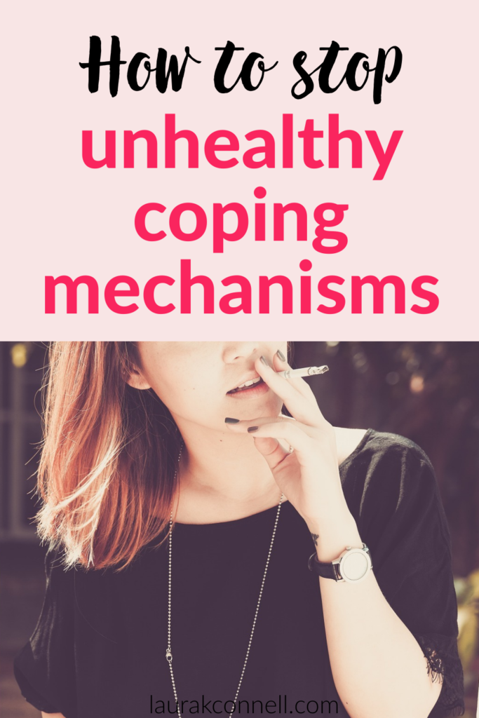 unhealthy coping mechanisms